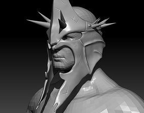 3D printable model Witch King Helmet Mask