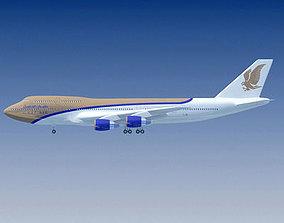 3D model Gulf Air