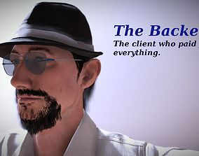 The Backer - Realistic Game Ready Human Character 3D