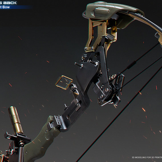 No Turning Back - Legendary Combat Bow