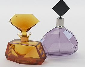 Bottles for perfume - Art Deco 1930 3D model