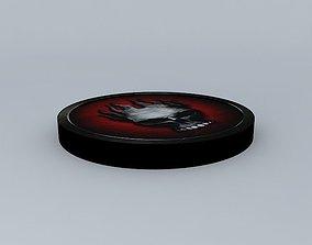 The Offspring Skull Master Logo 3D model