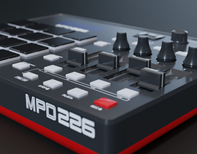 3D model Akai Professional MPD226