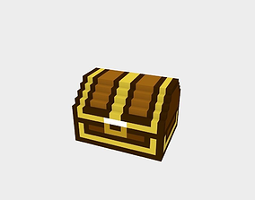 Voxel Small Chest 3D asset