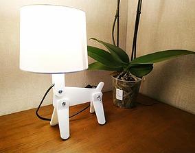 Dog lamp 3D