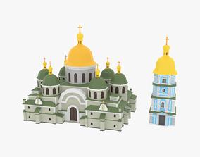 realtime Christian Church01 3D Model