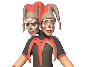 joker CARTOON 3D model