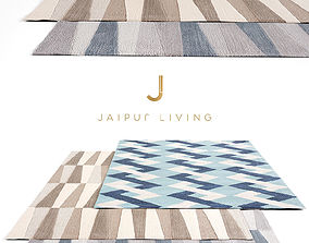3D model Jaipur Living Rug Set 8