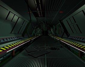 Sci-Fi corridor 3D