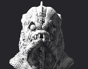 CREATURE FROM THE BLACK LAGOON bust 3D printable figure