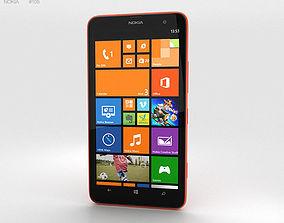windows Nokia Lumia 1320 Red 3D model