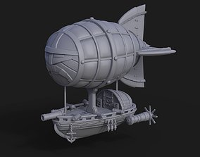 Dwarf Flying Zeppelin Miniature 3D print model