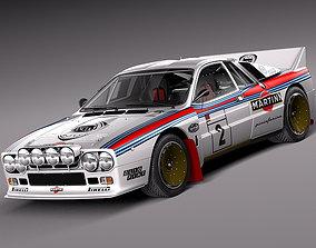 3D Lancia 037 1982-1983