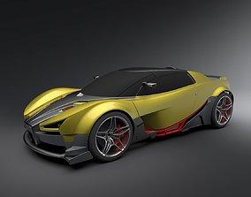 3D Trackday car concept