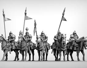 Feudal Guard Shock Cavalry 3D print model