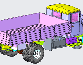 MAZ-200 3D print model