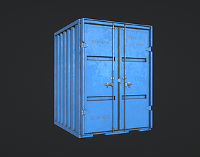 Industrial Container 3D model VR / AR ready