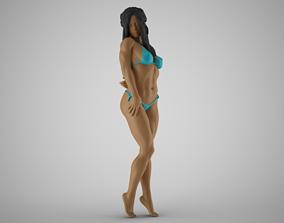 Girl Showing Herself 2 3D print model