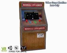 3D model Video Game Machine