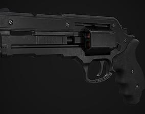 3D model Revolver Game Ready