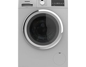 3D FRONT LOAD SILVER WASHING MACHINE