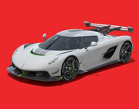 speed 3D model Koenigsegg Jesko