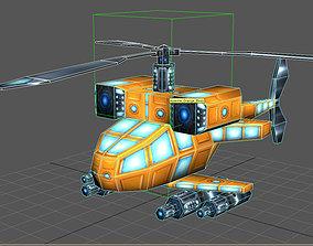 3D model Apache combat