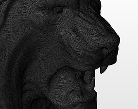 3D print model Panthera Leo head