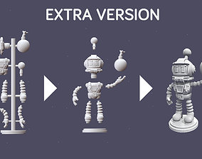 Bomberman 1 - Print READY Extra version 3D asset