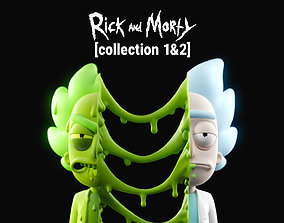 Rick and Morty Collection 1 and 2 3D model