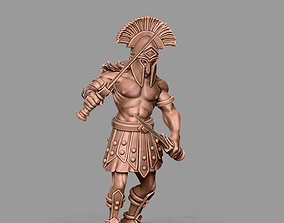 spartan 3D print model - hoplite 35 mm scale antic