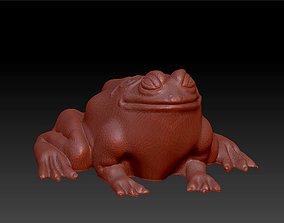 bullfrog large frog statue 3D printable model