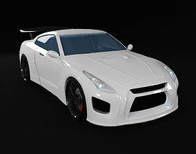 Nissan GT-R tuning 3D
