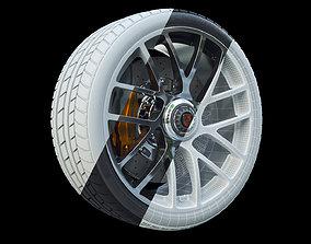 3D model Porsche 911 Turbo S 2016 wheel