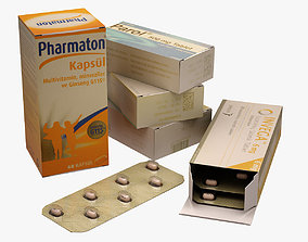 Pills 001 3D model