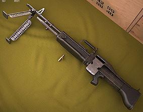 3D model Saco Defense M60