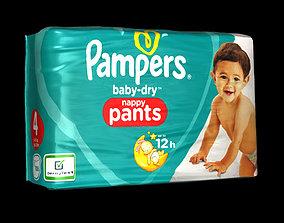 3D Diaper package