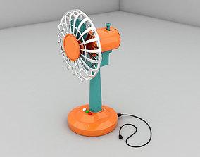 Fan 3 d model VR / AR ready