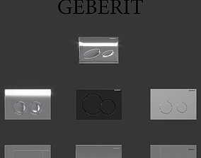 3D model Flush buttons Geberit