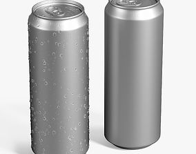beverage can 3D
