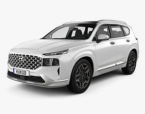 Hyundai Santa Fe 2021 3D