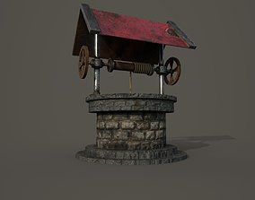 3D model VR / AR ready Water well