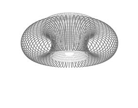 3D Morosini Spring PL 55 Ceiling light