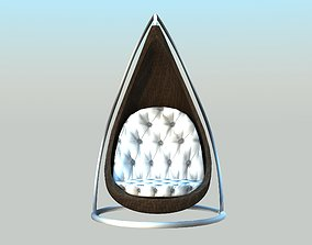 3D model Swing - Low poly