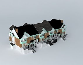 traditional 3D Townhouse