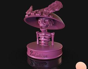 mexican 3D printable model La Catrina
