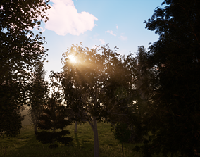 realtime Very realistic 3d Trees collection for 2