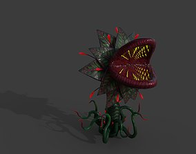 3D model Flesh Eating PLant with rigg