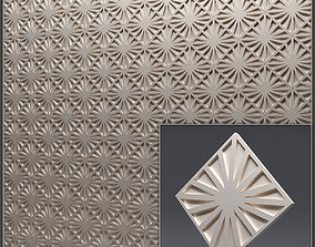 Gypsum 3D panel 17