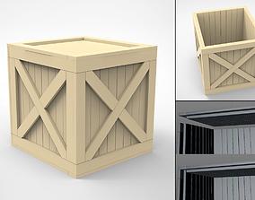 Wood Box 3D print model